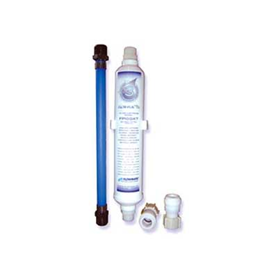 Water Filter - Flow-Pur #3 - Undercounter - Quick Connects - Winterizing By-Pass Hose