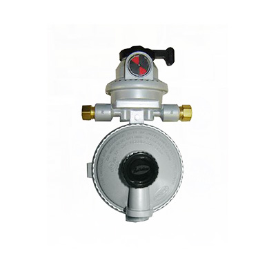 Propane Regulator - Fairview Fittings 2-Stage Automatic-Changeover Regulator With Vent
