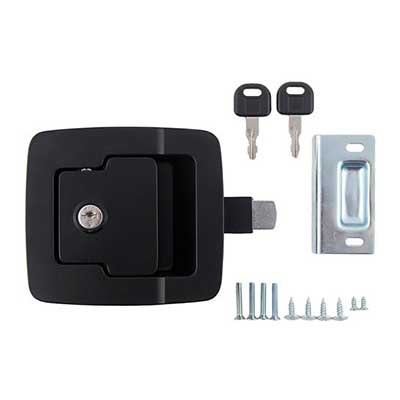 Baggage Door Latch - Fastec Baggage Door Slam Latch Black