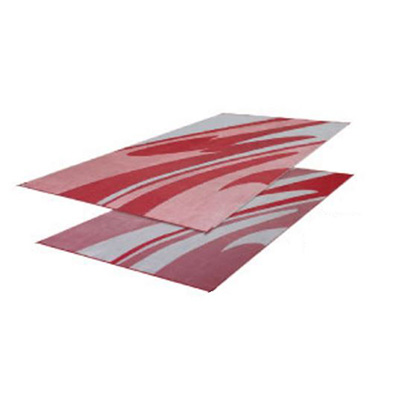 Mats - Faulkner Mirage 8' x 16' Outdoor Mat - Burgundy