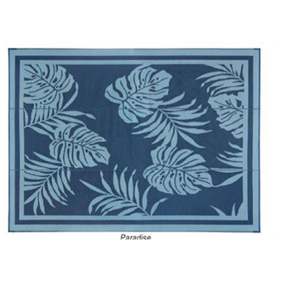 Mats - Faulkner Paradise 9' x 18' Reversible Multi-Purpose Mat - Blue