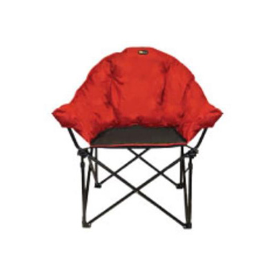 Camping Chairs - Faulkner Big Dog Bucket Chair With Carry Bag Burgundy