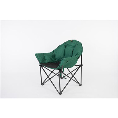 Camping Chairs - Faulkner Big Dog Bucket Chair With Carry Bag Green