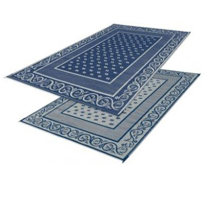 Camping Mats - Faulkner Vineyard Patio Mat 8' x 20' Blue