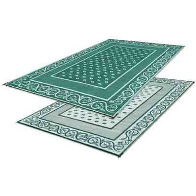 Camping Mats - Faulkner Vineyard Patio Mat 8' x 20' Green