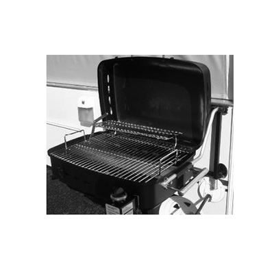 Barbecues - Sidekick Propane Grill With Stand Alone Bracket & RV Mount Black