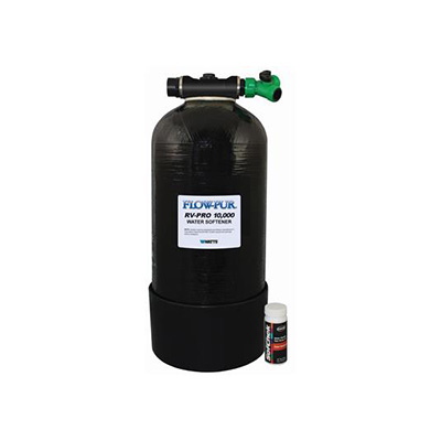 Water Softener - FLOW-PUR - RV-PRO 10000 - 4 GPM - Includes Harness Strips