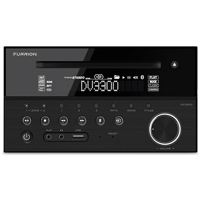 RV Stereo - Furrion Bluetooth Ready RV Stereo With2-Zone Speaker System 12 Volts DC