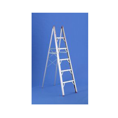Step Ladder - GP Logistics Single-Sided Folding Step Ladder 6'L