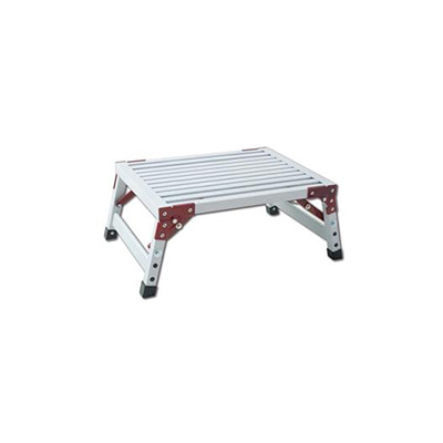 Step Stool - GP Logistics Platform Step Stool With Folding Legs - 500 Lbs Capacity