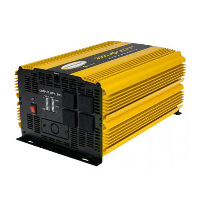Power Inverter - Go Power 3000 Watt Modified Sine Wave Power Inverter