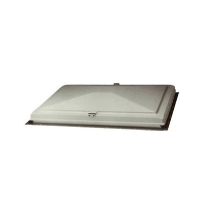 Escape Hatch Cover - 22 x 22 - White - Includes Cross Bar