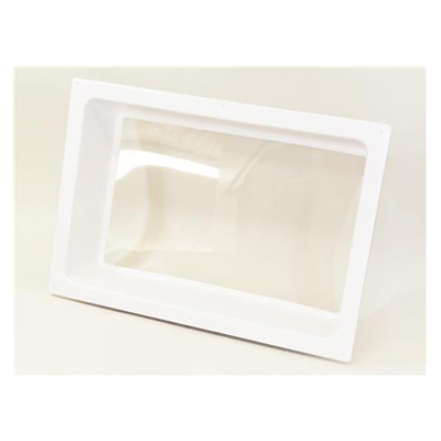 RV Skylight Lens - Icon - Interior -24 x 16 x 5 Inches - White