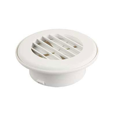 Duct Covers - ThermoVent - Fits 4 Inch Round Duct Pipe - White