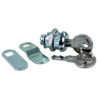 Compartment Door Locks - JR Products - Standard 751 Keys - 5/8