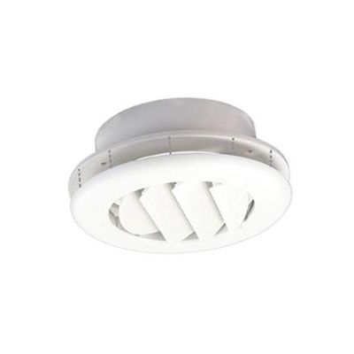 Duct Covers - CoolVent - Ceiling Vent - Round - White