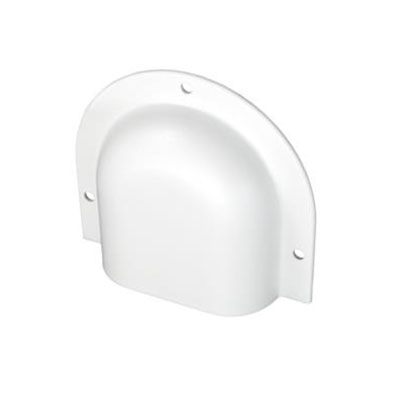 Vent Cover - JR Products Horseshoe Vent Cover White