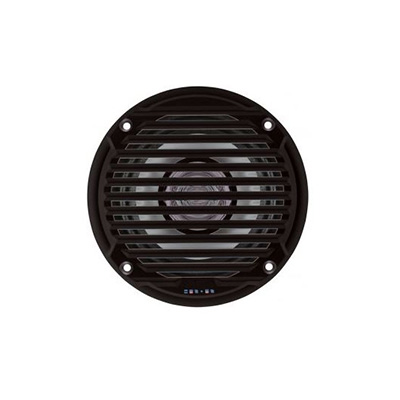 RV Speakers - Jensen - Waterproof - 5 Inch Round - 30W - 2 Per Pack - Black