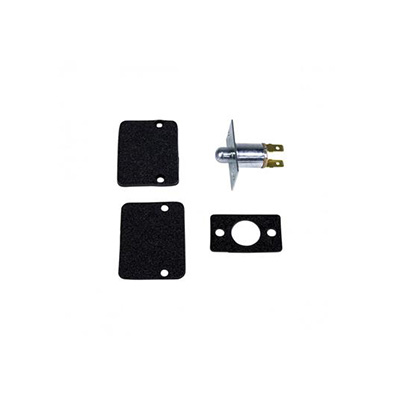 Electric Step Parts - Kwikee Old-Style Door Switch With Plate Plunger & Hardware - Black