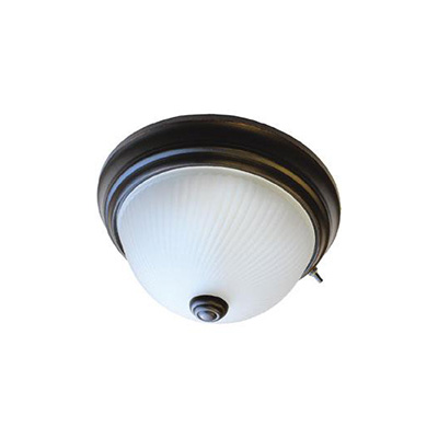 Interior Lights - Lasalle Bristol RV Ceiling Light With Built-In Switch 12V - Oil Rubbed Bronze