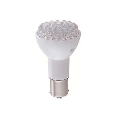 Light Bulbs - Green Long Life 12V LED Natural White 1383/1156 Base Light Bulbs - 1 Per Pack