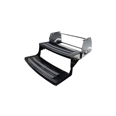 RV Steps - Lippert Components Double Radius-Nose Manual RV Steps 24