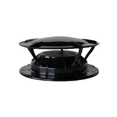Sewer Vent Cap - Lippert Components 360 Siphon Sewer Vent Cover With Bug Screen - Black