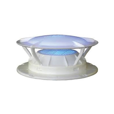Sewer Vent Cap - Lippert Components 360 Siphon Sewer Vent Cover With Bug Screen - White