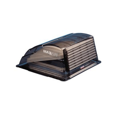 RV Roof Vent Cover - MaxxAir Standard-Size Exterior Roof Vent Cover Smoke