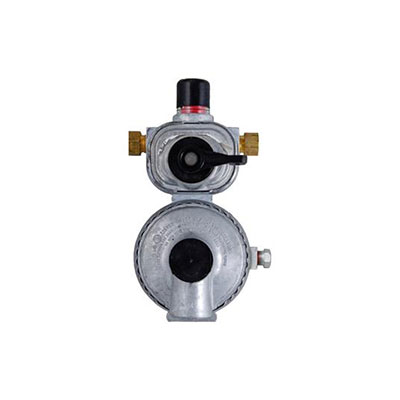 Propane Regulator - Excela-Flo Automatic-Changeover 2-Stage Regulator With End Vent