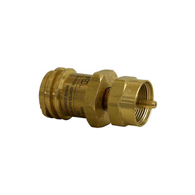 Propane Adapters - MEC Full-Size Propane Tank To Disposable Cylinder Adapter