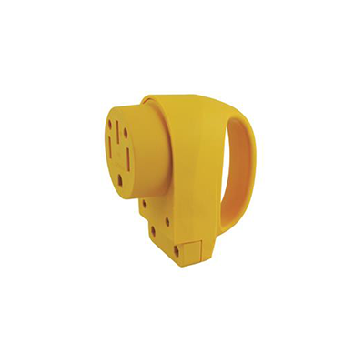Power Cord Plug End - ParkPower 50A Female Power Cord Plug End With Handle