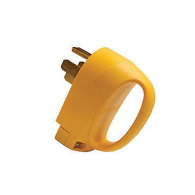 Power Cord Plug End - ParkPower 50A Male Power Cord Plug End With Handle