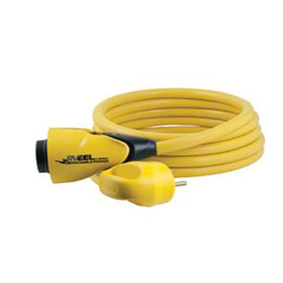 Power Cord - RV EEL 50A Cordset With Jaw Clamp Technology 25'L