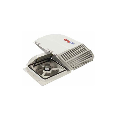 RV Roof Vent Cover - MaxxAir Fanmate Exterior Roof Vent Cover - White