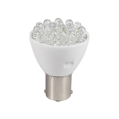 Light Bulbs - Green Long Life 12V LED Natural White 1139/1156 Base Light Bulbs - 1 Per Pack