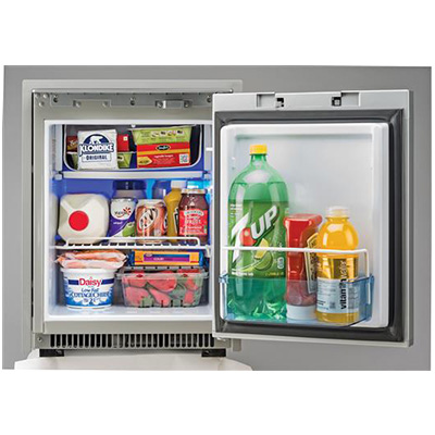 Refrigerators - Norcold 2-Way AC/DC 1.7 Cubic Foot Refrigerator Black