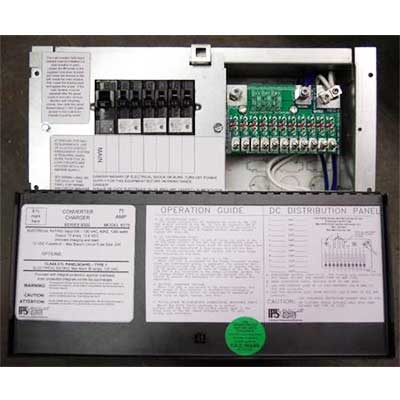 Power Center - PPS 55A Power Distribution Center With Converter/Charger