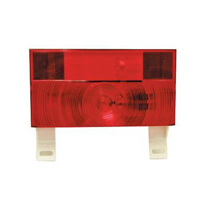 Tail Lights - Peterson Manufacturing Stop & Turn Tail Light With Plate Holder - Red