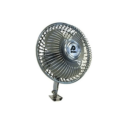 RV Fan - Prime Products Single-Speed Fan With Switch 12V Chrome