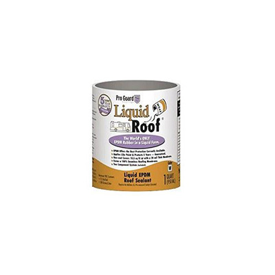 Roof Repair - Pro Guard Coatings Liquid Roof EPDM Rubber Roof Coating 1 Quart White