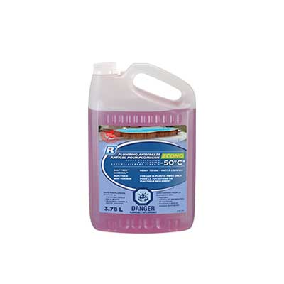 Winterizing Accessories - Recochem Non-Toxic Plumbing Antifreeze 3.78L Jug