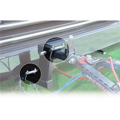 "Hitch Clamp - Roadmaster Quiet Hitch 2"" Receiver Clamp"