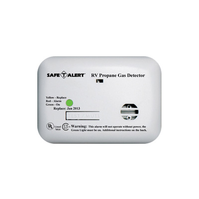 Propane Detector - Safe-T-Alert 20 Series Surface Mount LP Detector 12V White
