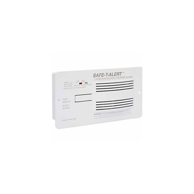 CO/LP Detector - Safe-T-Alert 70 Series Flush Mount Detector 12V White