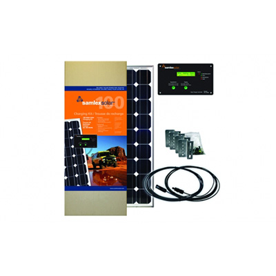 Solar Panel - Samlex Solar Charge Kit 150-Watts With Panel, Controller, Wire & Hardware 30A