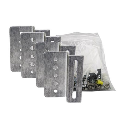 Solar Panel Mounts - Samlex Solar Panel Aluminum Mounting Brackets - 4 Pack With Screws