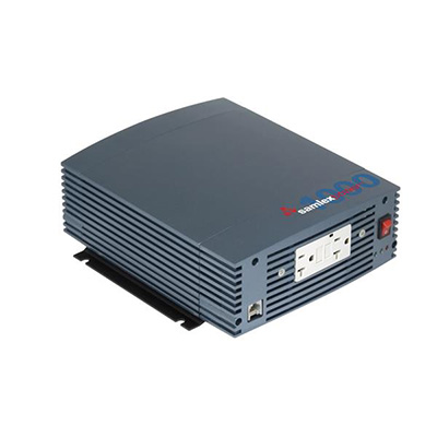 Power Inverter - Samlex Solar Pure Sine-Wave Power Inverter With LCD Remote 1000 Watt
