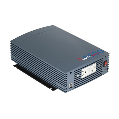 Power Inverter - Samlex Solar Pure Sine-Wave Power Inverter With LCD Remote 1500 Watt