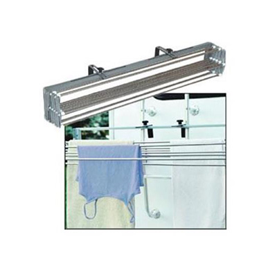 RV Clothesline - Smart Dryer - Ladder And Wall Mount Design - Stainless Steel